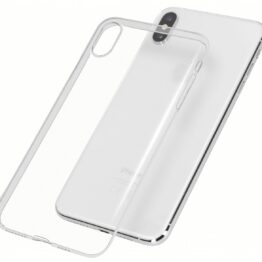 iPhone X Cover Superslim 0,75mm flexibel