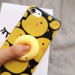 iPhone 7 Squezze Handyhülle mit süßen 3D-Figuren