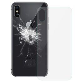 iPhone X Backcover Glas Transparent